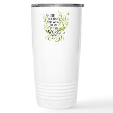Be the Change - Green - Light Travel Mug