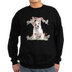 Corgi Flowers Sweatshirt (dark)