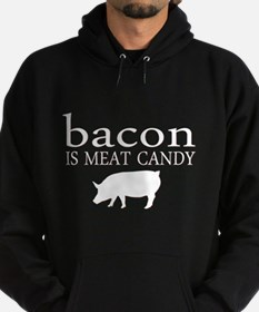 Funny - Bacon is Meat Candy! Hoodie
