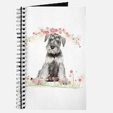 Schnauzer Flowers Journal