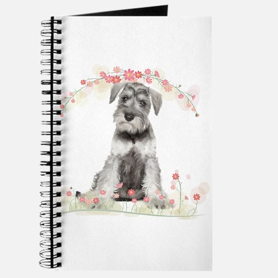 Schnauzer Flowers Journal