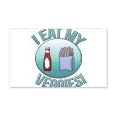 I Eat My Veggies cp.png Wall Decal