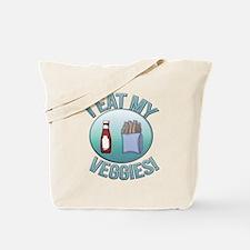 I Eat My Veggies cp.png Tote Bag