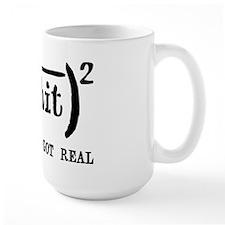 Shit Just Got Real Funny Math Mug