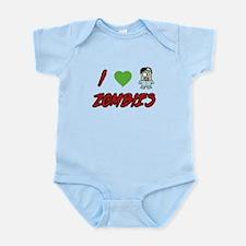 I heart Zombies Infant Bodysuit