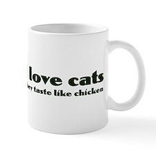 I Love Cats funny Mug