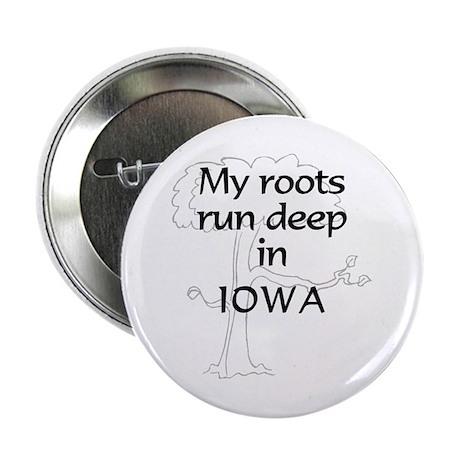Iowa Roots Button