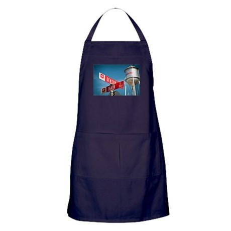 Bremond Texas Water Tower Apron (dark)