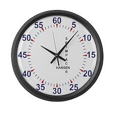 Cute Swimming aparel Large Wall Clock