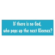 The Next Kleenex Bumper Bumper Sticker