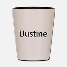 iJustine Shot Glass