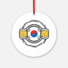 Korean Water Polo Ornament (Round)