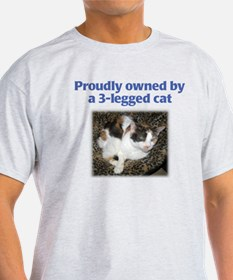 3-Legged Cat T-Shirt