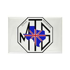 TMGR logo Rectangle Magnet