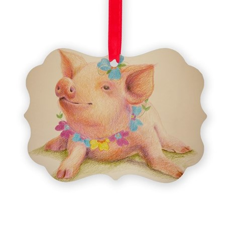 California Dreamin Picture Ornament