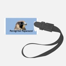 Fledgling Falcon in a Pine Tree Luggage Tag