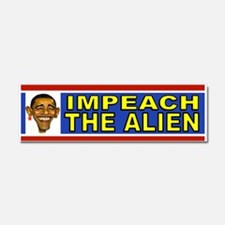 OBAMA ALIEN Car Magnet 10 x 3