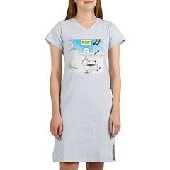 Polar Bears and Reindeer Women's Nightshirt