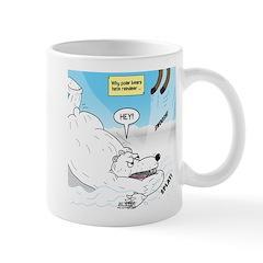 Polar Bears and Reindeer Mug