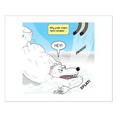 Polar Bears and Reindeer Posters