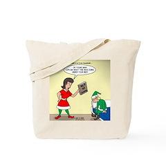 Elf Trouble Tote Bag