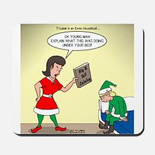 Elf Trouble Mousepad