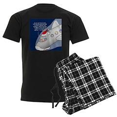 Santa Airlines Pajamas