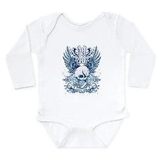 Cute Lucky 13 Long Sleeve Infant Bodysuit