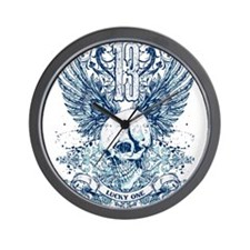 Unique Lucky 13 Wall Clock