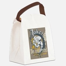 Cute Super villain Canvas Lunch Bag