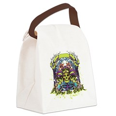 before the dark Canvas Lunch Bag