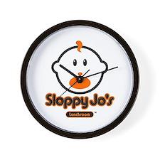 Sloppy joe Wall Clock