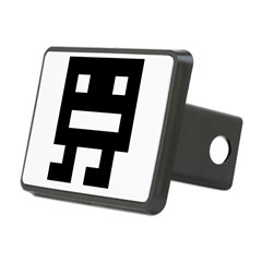 Retro Space Monster Hitch Cover