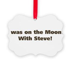 on the moon Ornament