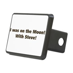 on the moon Hitch Cover