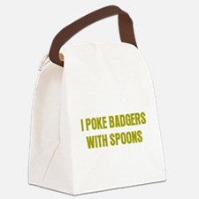 Poke Badgers Canvas Lunch Bag