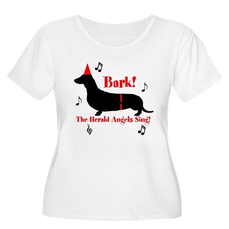 Bark! The Herald Angels Sing Women's Plus Size Sco