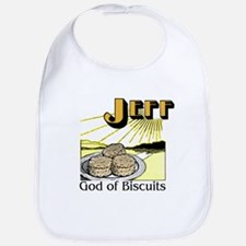 God of Biscuits Bib