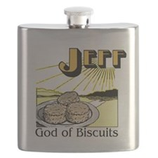 God of Biscuits Flask