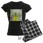 KNOTS Maple Syrup Women's Dark Pajamas