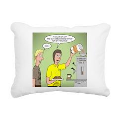 KNOTS Maple Syrup Rectangular Canvas Pillow