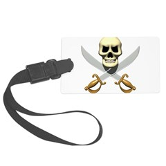 Classic Pirate Sign Luggage Tag