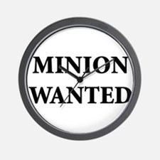 Minion Wanted Wall Clock