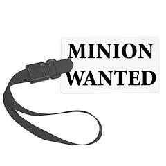 Minion Wanted Luggage Tag