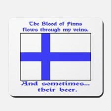 Finnish Blood & Beer Mousepad