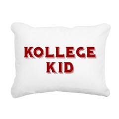 kollege kid Rectangular Canvas Pillow