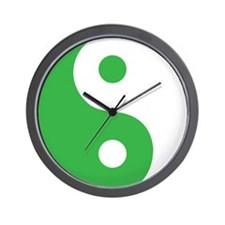 Ying Yang Custom Wall Clock