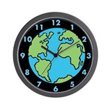 Globe Wall Clocks