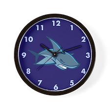 Blue Shark Custom Wall Clock