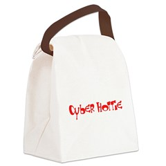 Cyber Hottie Canvas Lunch Bag